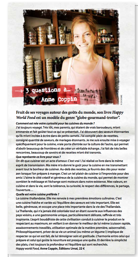 Article HAPPINEZ sur Anne Coppin